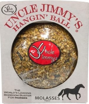Uncle JImmy's Hangin' Ball - Horse Stall Treat